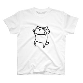 【のびネコねこハウス】ぶちょう T-shirts