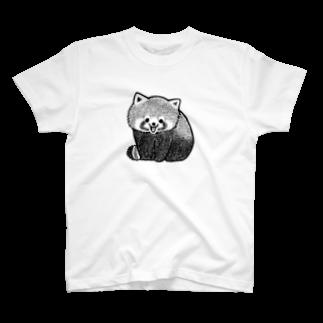 いそだにくの愛嬌を振りまくレッサーパンダ T-shirts