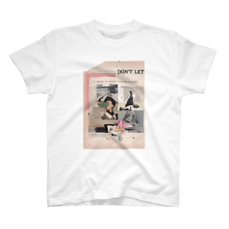 Gotandaのfishing flower T-shirts