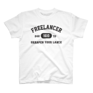 フリーランス(グレー) T-shirts
