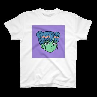 コ八ルのコミックガール T-shirts