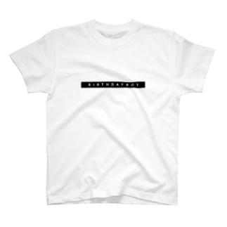 BIRTHDAY BOY ( BOX ) T-shirts
