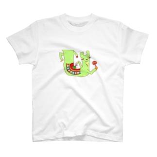 リャマ神 T-shirts