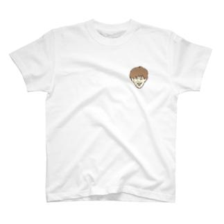 小林の顔。 T-shirts