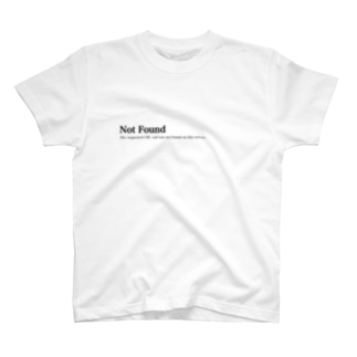 Not Found Tシャツ T-shirts