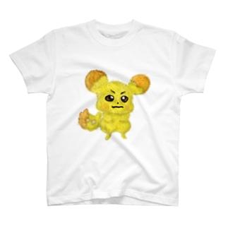ビットコインチュウ T-shirts