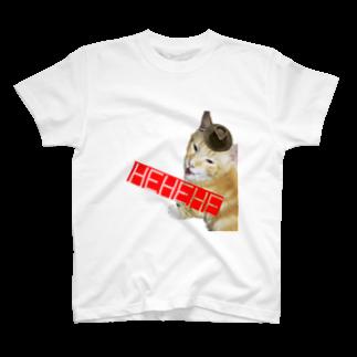 ネコカドウの泥棒猫 T-shirts