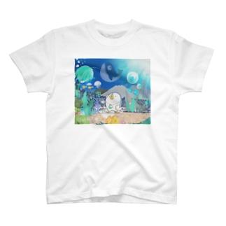 あのとり。と謎の海 T-shirts