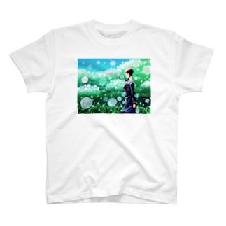 焼き写した光幕 T-shirts