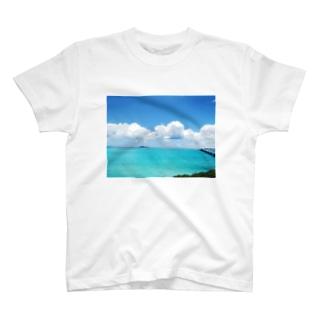 宮古島の青空グッズ T-shirts