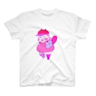 ピンクボーイ T-shirts