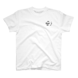 たばこ吸うおじさん T-shirts