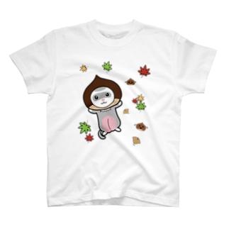 栗フェレット(シルバーミット) T-shirts