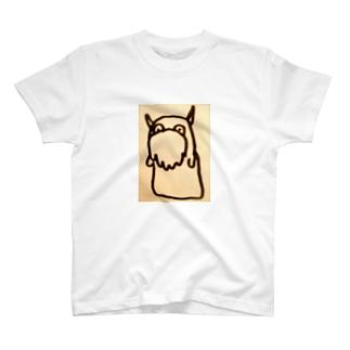 妖怪 髭はやし T-shirts