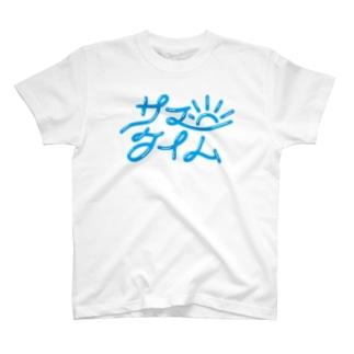 mojiyaのサマータイム T-Shirt