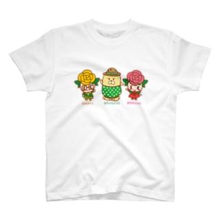 ばららちゃんとおじゃもんくん T-shirts