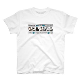 ドット猫 T-shirts