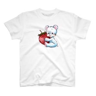 くまといちご T-shirts