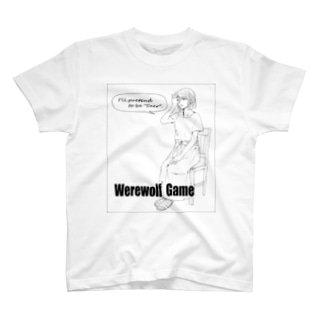 人狼ゲーム・占い騙り T-shirts