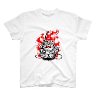不動明王【針鼠】 T-shirts