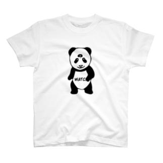 見てるぜパンダ T-shirts
