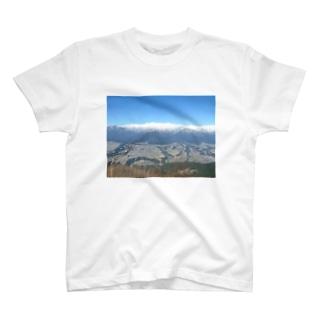 陣馬形山キャンプ場からの風景 T-shirts