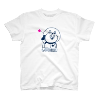 宇宙ネコ うっかり T-shirts