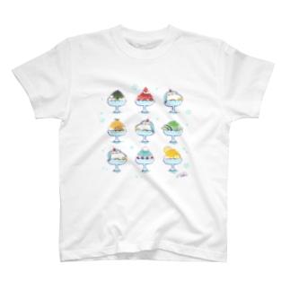 ペンギンかき氷 T-shirts