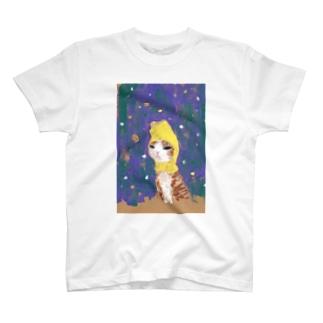 哀愁ふたレモン T-shirts