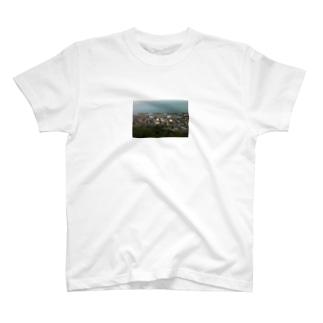 海辺のまち T-shirts