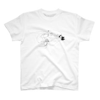 ジョルダンヒレナガチョウチンアンコウ T-Shirt