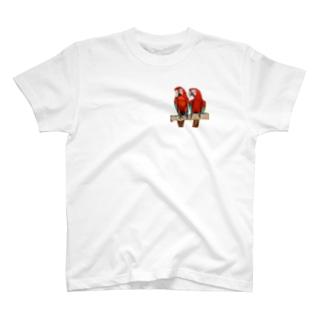金剛カップル T-shirts