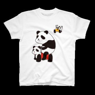 チョッちゃんのパンダカー T-shirts