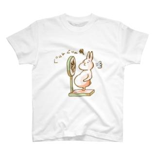 ウサギのあみちゃん T-shirts