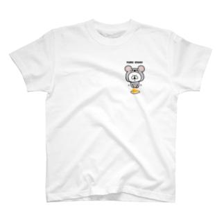 ゆるうさぎ マウス T-shirts