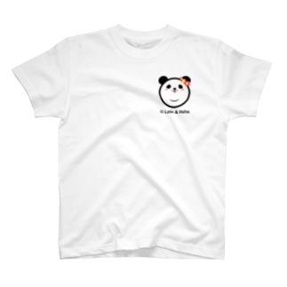 Panda Lele&Hehe T-shirts