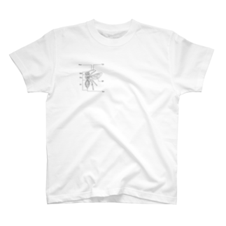 I'm not a robotのBee  T-shirts