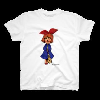 ほっかむねこ屋@TシャツSALE中の魔女 T-shirts