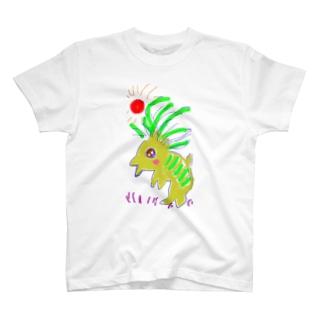 がおがおさん T-shirts