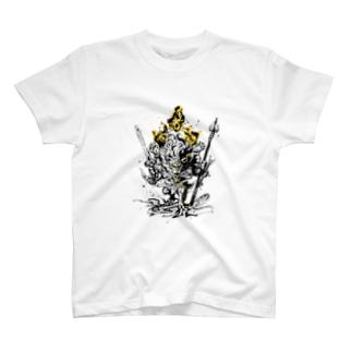 降三世明王【獅子】 T-shirts