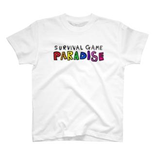 サバゲーしようぜ T-shirts