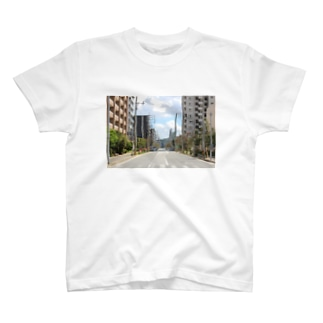 九大学研都市側 T-shirts