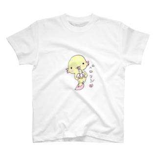 ぺろりんウーパールーパー Tシャツ