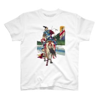 芳年武者无類 畠山庄司重忠 T-shirts