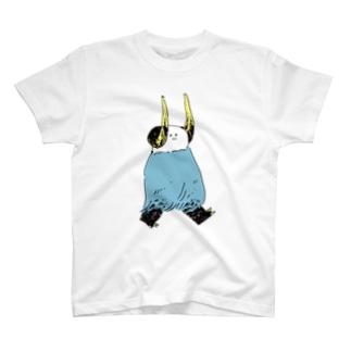 角いろつき Tシャツ