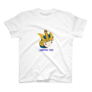 東京のゆるキャラ、サムライくんのTシャツです。 T-shirts