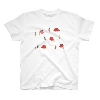 メンダコわらわら(カラー) T-shirts
