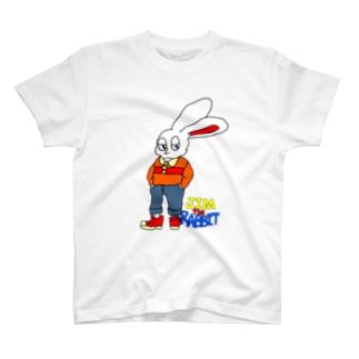 うさぎのジム君 T-shirts