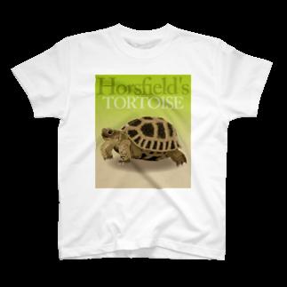 Rie HAYASHIのホルスさん T-shirts