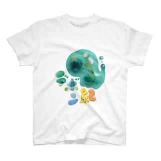 デボン紀 T-shirts